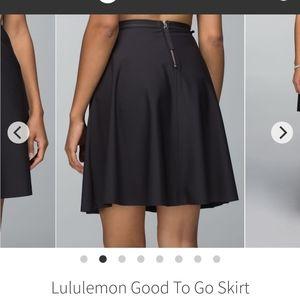 Lululemon | Good to Go skirt in black